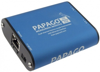 Papago 2TC_ETH - Ethernet Type K Thermocouple Thermometer with Web Server, SNMP ,email