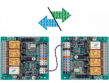 QuidoDuplex RS4 - Send Digital Signals across RS485 - 4 Channel