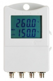 S0141 4-Channel Temperature  Data Logger with LCD - External Sensors
