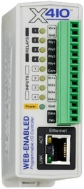 X-410-I Web-Enabled Programmable Controller
