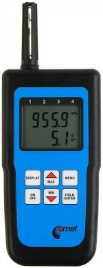 C4130 - Handheld Temperature, Humidity and Atmospheric Pressure Meter