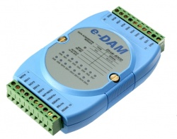 EDAM-8043D - RS485 ASCII / MODBUS 16-Channel Open Collector Output