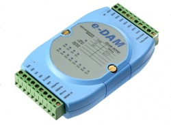EDAM-8044D - RS485 ASCII / MODBUS 8 Channel Digital output, 4 Channel Digital Input