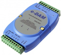 EDAM-8510 Isolated RS-422, RS-485 Repeater