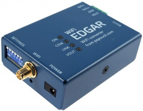 EDGAR  Wifi to RS232 RS485 Serial Converter