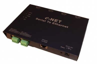 ENET432 - 4-Port Ethernet to Serial Converter