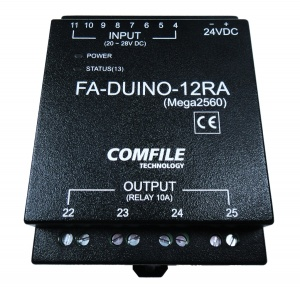 FA-DUINO-12RA - Industrial Arduino PLC - 8 Inputs, 4 Relays, 8 Analogue