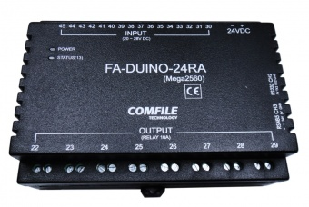 FA-DUINO-24RA - Industrial Arduino PLC - 16 Inputs, 8 Relays, 8 Analogue