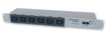 6G10A-UK - Ethernet Remote Power Switch with Reboot - 6 Channel