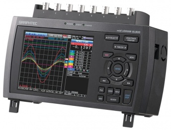 GL900-8 - 8-Channel High-Speed Charting Datalogger