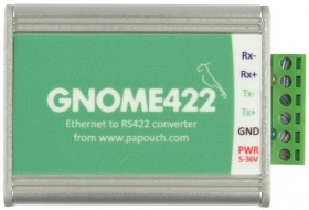 GNOME422 Ethernet to RS422 Serial Converter