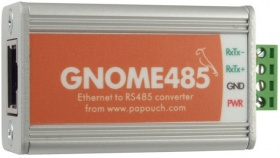 GNOME485 Ethernet to RS485 Serial Converter
