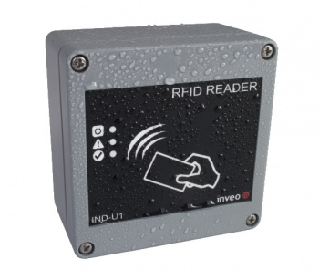 IND-M2 - RFID  Reader Relay Controller 13.56MHz - Ethernet, RS485 and USB