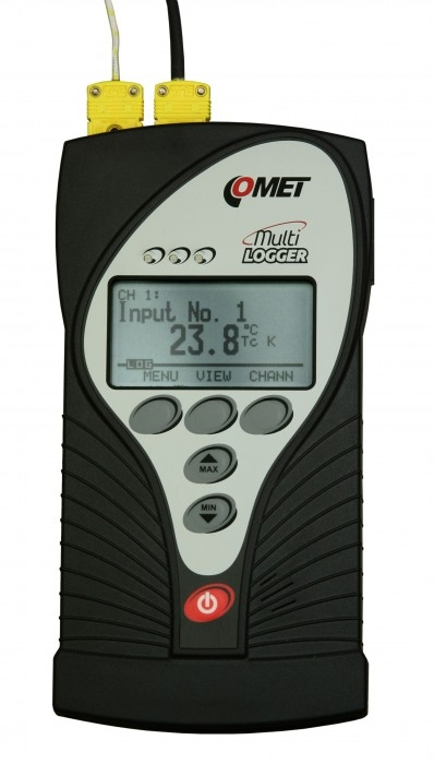 M1200 - 4-Channel Thermocouple Data Logger - www.audon.co.uk 5b0ee6344d80a