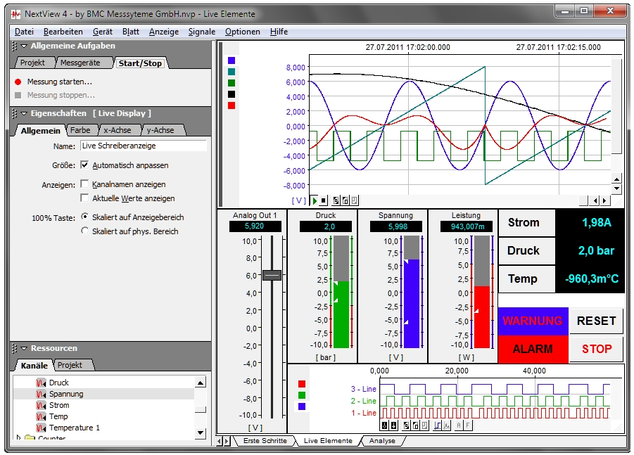 Data Acquisition Software : Nextview pro data acquisition software for bmc products