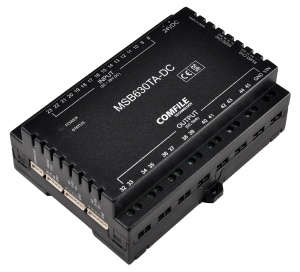 MSB630TA-DC - CuBloc PLC - 16 Inputs, 14 Transistor Out, 8 Analogue RS232, RS485