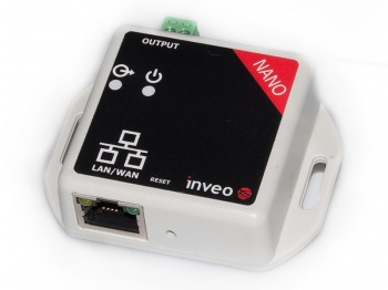NANO_OUT - Ethernet Relay Unit with Web, Modbus TCP, SNMP