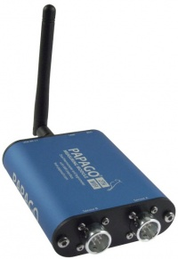 Papago PGO_2TH_W - WiFi 2-Channel Temperature and Humidity Unit with Web Server, SNMP ,email