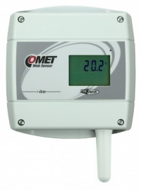 T0610 - Ethernet Thermometer with LCD and POE