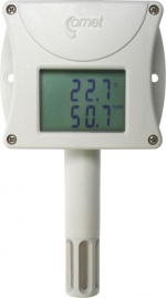 T3510 - Ethernet Temperature and Humidity Sensor Alarm unit with LCD