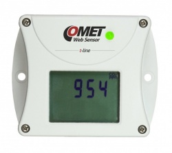 T5540 - Ethernet CO2 Sensor Alarm unit with LCD