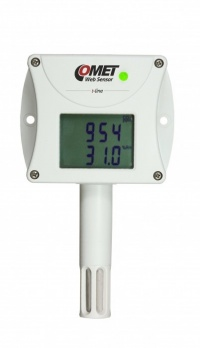 T6540 - Ethernet CO2, Temperature and Humidity Sensor Alarm unit with LCD