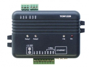 TCW122B-CM - Ethernet Digital IO, Voltage, Temperature, Humidity Alarm and Control