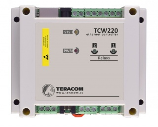 TCW220 - Ethernet Data Logger - Temperature, Humidity, Volts