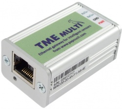 TME-MULTI  - Ethernet Temperature, Humidity Sensor Interface