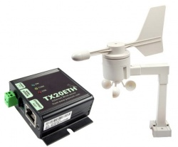 TX20ETH - Ethernet Modbus TCP Wind Speed and Direction Sensor