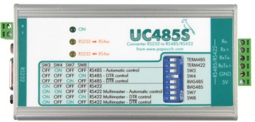 UC485S Isolated RS-232 to RS-422, RS-485 Converter
