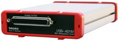 USB-AD16f - USB 250kHz 16 Channel Data Acquisition Unit