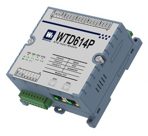 WTD614P Ethernet Modbus TCP - 4-Ch RTD Temperature Input