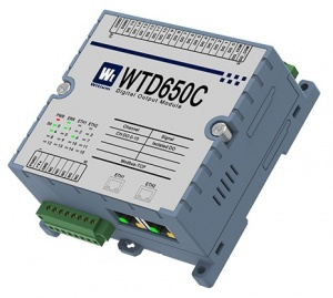 WTD650C Ethernet Modbus TCP - 16 Digital Outputs with PWM