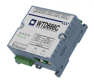 WDT666C Ethernet Modbus TCP 6 Power Relay Outputs