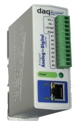 WEBANALOG- Ethernet Analogue Input Module with Web Server and email