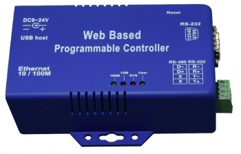 WPC-132-DL  RS485 Modbus Data Logger with Web Interface