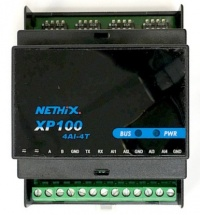 XP100-4AI4T WE120 4-Channel Analogue and Temperature Input Expansion Module