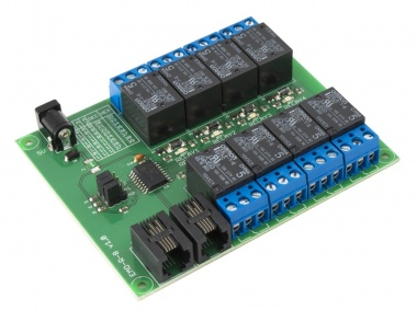 EMO-R8 - I2C 8 Relay Expansion Card
