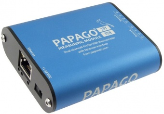 Papago 2PT_ETH - Ethernet PT100/PT1000 Thermometer with Web Server, SNMP ,email