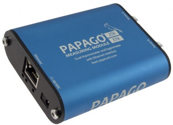 Papago 2TH_ETH - Ethernet 2-Channel Temperature and Humidity Unit with Web Server, SNMP ,email