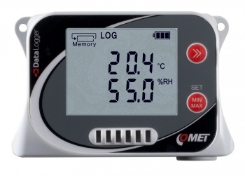 U3430 Temperature, Humidity and CO2 Data Logger