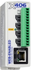 X-406-I Web-Enabled 1-Wire Multi-Bus Module