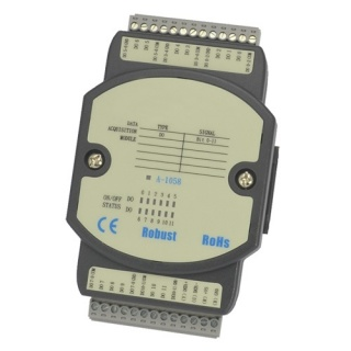 A-1058 RS485  Modbus IO Unit - 12 Transistor Digital Outputs