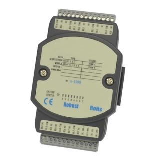 A-1069 RS485 Modbus IO Unit - 8 Power Relay Outputs