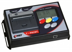 G0241 T-Print Trailer Temperature Data Logger with Printer, 2 x Digital Inputs