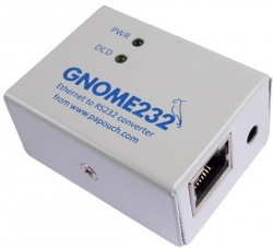 GNOME232 Ethernet to RS232 Serial Converter