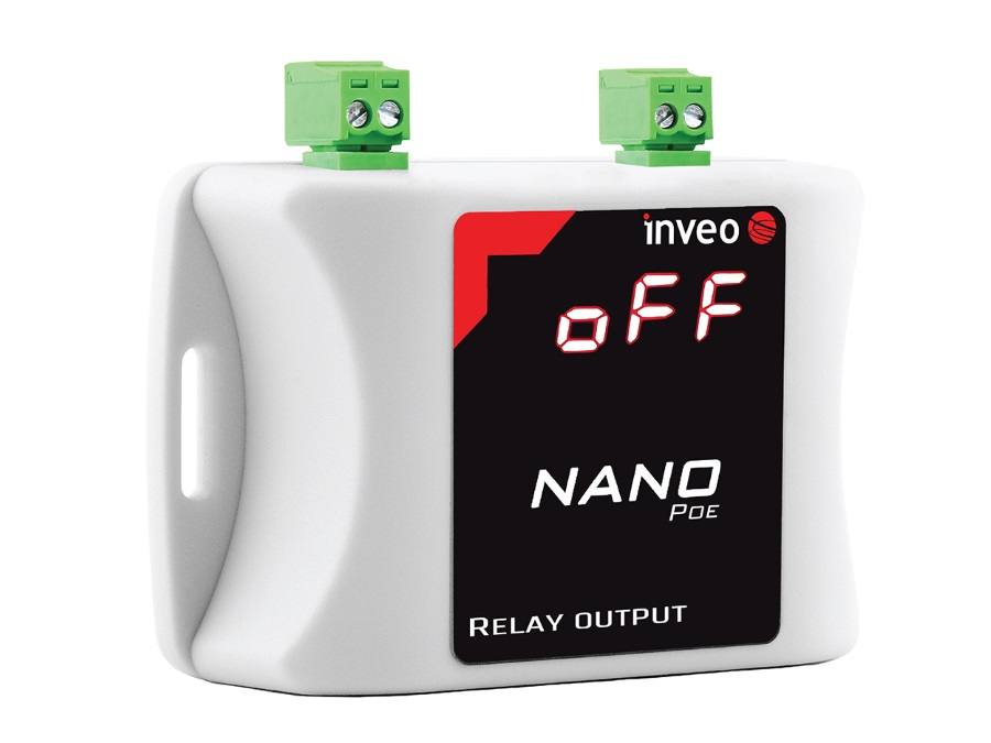 NANO_OUT_POE - Ethernet Relay Unit with POE, Web, Modbus TCP, SNMP