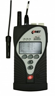 M1322 - 4-Channel Temperature, Humididty,  Analogue Input, CO2 Data Logger