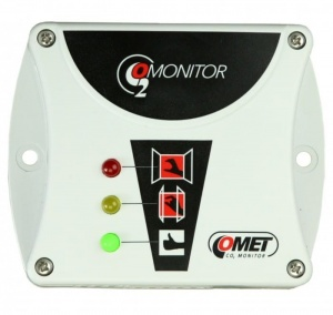 T5000 CO2 monitor - Carbon Dioxide level sensor